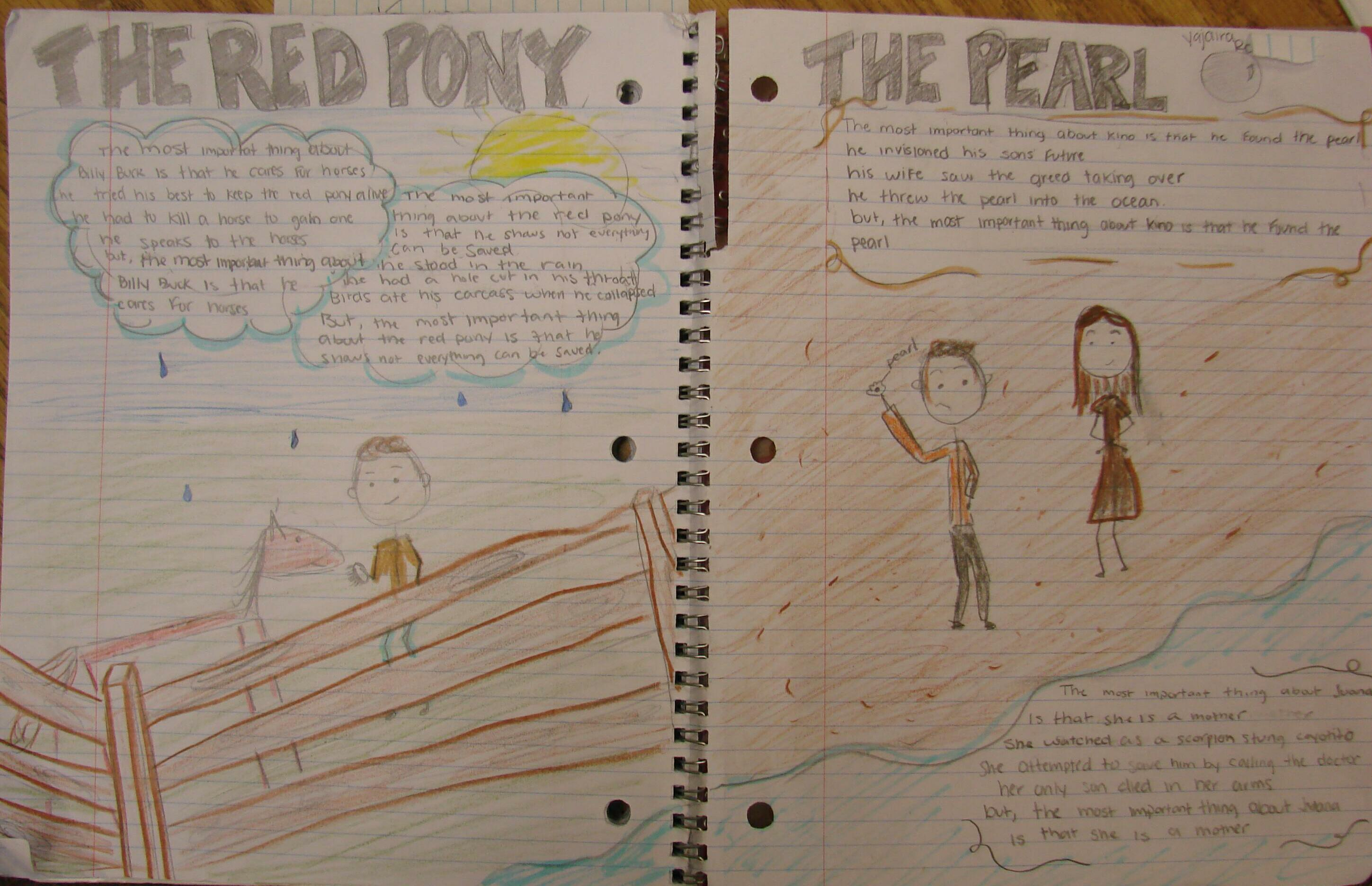 the red pony themes essay
