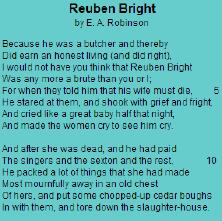 rueben brights dark days